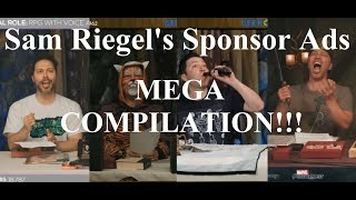 Sam's Sponsor Ads MEGA COMPILATION!!! [Campaign 1] (Critical Role)