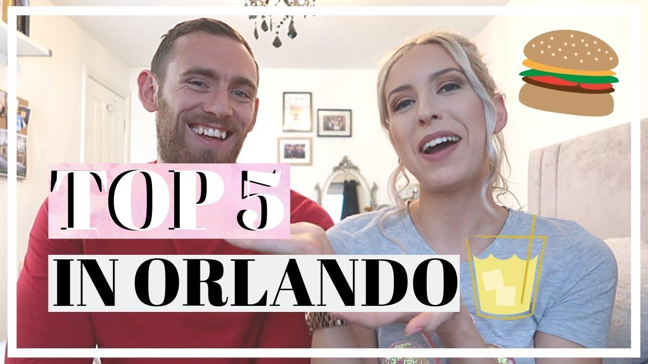 TOP 5 PLACES TO EAT IN ORLANDO | BEST RESTAURANTS NEAR DISNEY