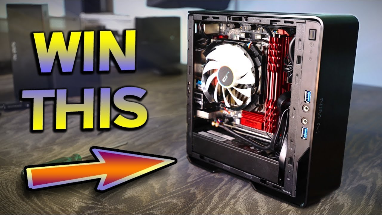 AMD 2400G Mini-ITX WorldWide Giveaway PC - So Small, So Smooth    !