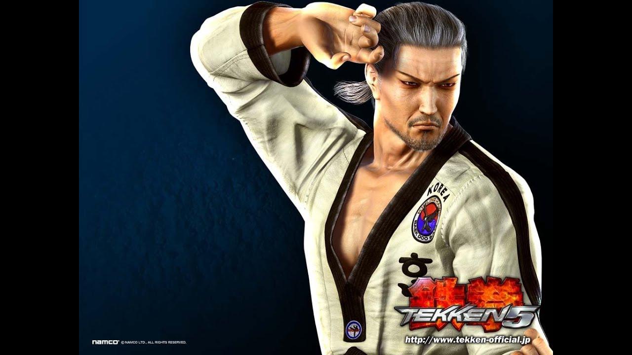 Taekwondo Itf Wallpaper 3d E24k S Tekken 5 Baek Doo San Story Battle Playthrough