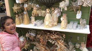 Ishfi's Daily Vlog  11 Visiting A  Shop Decorated for Christmas