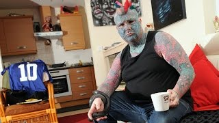 Britain's Most Tattooed Man Is Officially called King of Inkland