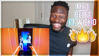 MHD - Bella feat. WizKid [Music Video] - SHAKU SHAKU DANCE NEW 2018 | REACTION