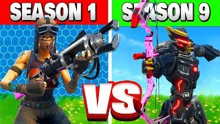 SEASON 1 vs SEASON 9!