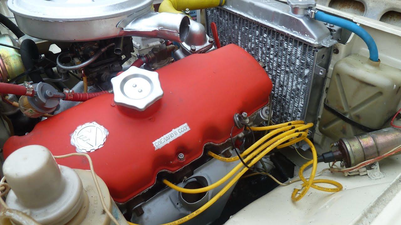Ремонт двигателя Москвич 21251.  Часть 2