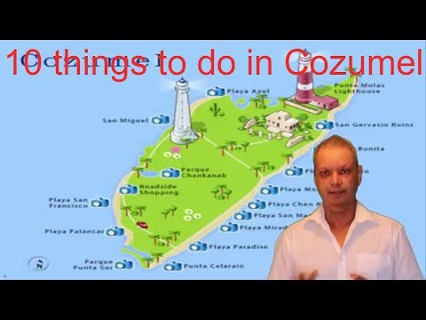 10 things to do in Cozumel