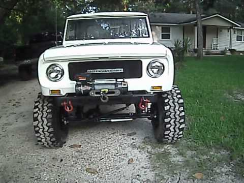 Pre-A 304/3-Speed: Nicely Restored 1968 International Scout 800 ...