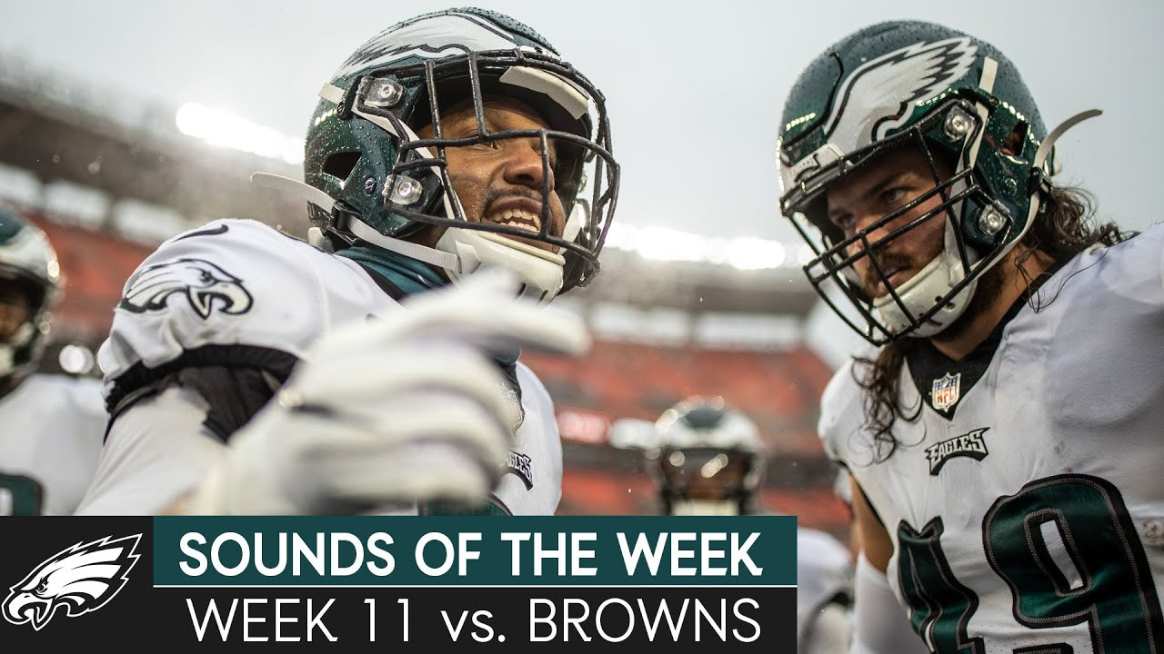 All-Access Look at the Eagles' Week 12 Matchup vs. Browns | Eagles Sounds of the Week