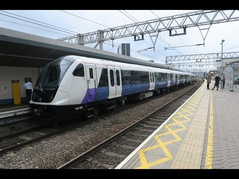 TRAVEL TO STRATFORD FOR CROSSRAIL 345005 + MORE 19 07 2017