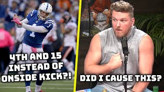 Pat McAfee Reacts To The NFL's New Rule To Replace Onside Kicks