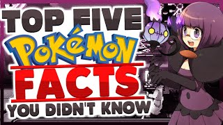 Top 5 Pokemon Facts You Didn