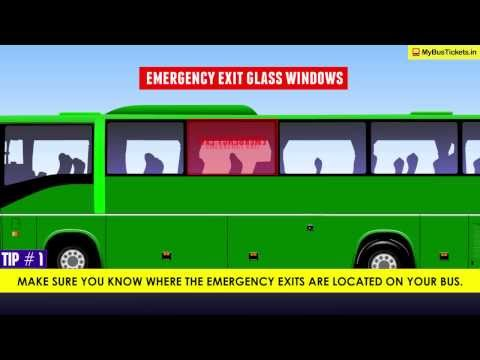 Safety tips for bus travel