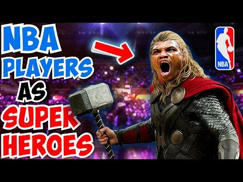 NBA STARS Who Are Just Like Your Favorite SUPERHEROES!