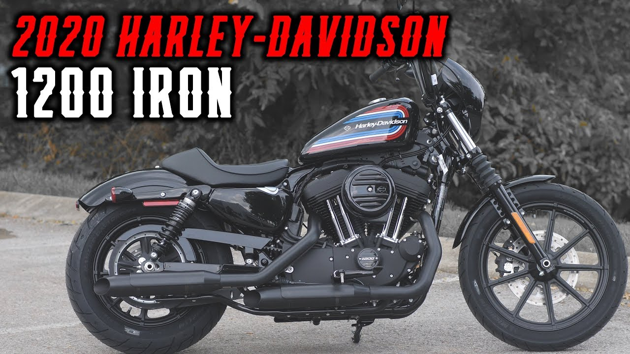 2020 harley davidson sportster 1200 iron stock 400303 youtube. Black Bedroom Furniture Sets. Home Design Ideas