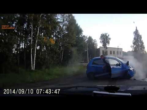 Car Crash Compilation September 2014 part 2