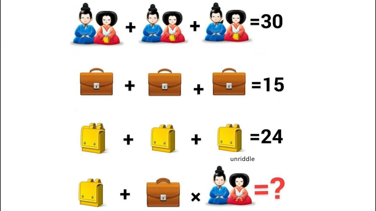Chinese couple equation only for genius can you solve it youtube chinese couple equation only for genius can you solve it buycottarizona Gallery