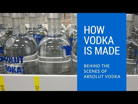 How Vodka Is Made: Behind The Scenes of Absolut Vodka