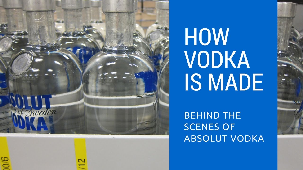 How vodka is made behind the scenes of absolut vodka doovi for Fun drinks to make with vodka
