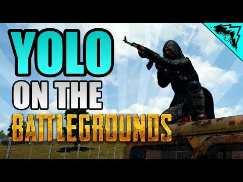 "BORN READY ""YOLO on the Battlegrounds"" #6 PlayerUnknown's Battlegrounds StoneMountain64"
