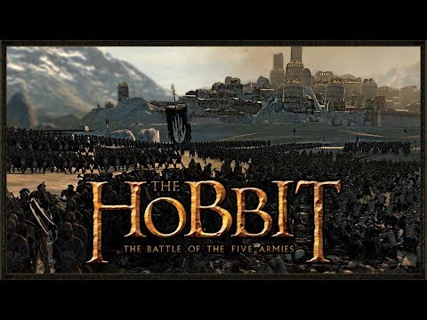 LEGENDARY BATTLE OF THE FIVE ARMIES - Total War Rise Of Mordor Gameplay