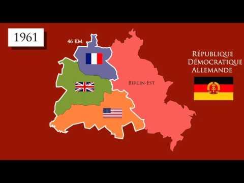 carte allemagne guerre froide 3ème   Hist   L'Allemagne au coeur de la guerre froide   YouTube