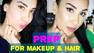 How To Prep Skin For FLAWLESS & LONGER Lasting Makeup