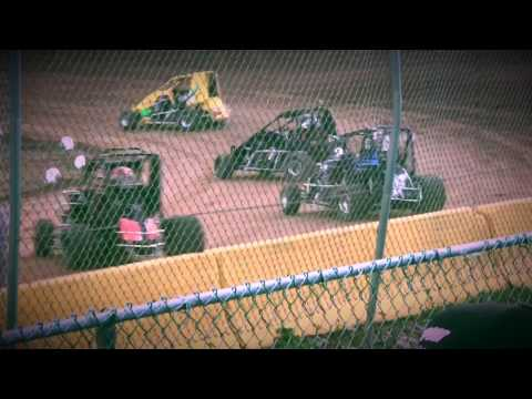Mikey Smith 2s - 600 Micro - Hamlin Speedway - 5/27/17 - Heat Race