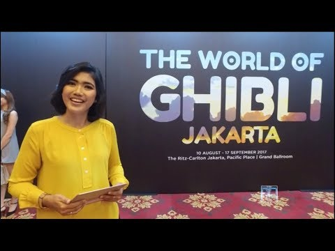 THE WORLD OF GHIBLI JAKARTA - JURNALISME KHALAYAK TVRI