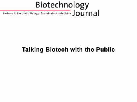 Talking Biotech with the Public