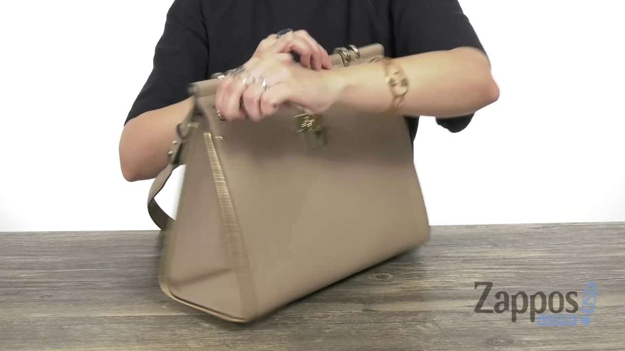 6b485c63ff9e MICHAEL Michael Kors Jasmine Large Top-Handle Satchel SKU: 9203467 ...