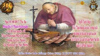 Đại lễ Mừng Thánh Anphongsô Đấng sáng lập Dòng Chúa Cứu Thế - Đền Đức Mẹ Hằng Cứu Giúp