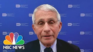 Dr. Fauci On J&J Vaccine, Pace Of Vaccinations | NBC Nightly News