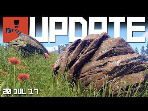 NEW ore nodes. BRADLEY Update | RUST update news 20th July 2017
