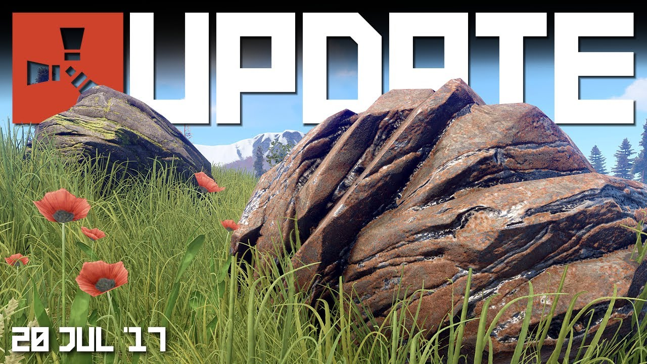NEW ore nodes. BRADLEY Update | RUST update news 20th July 2017