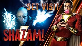 Shazam! - Everything You Need To Know from our Set Visit