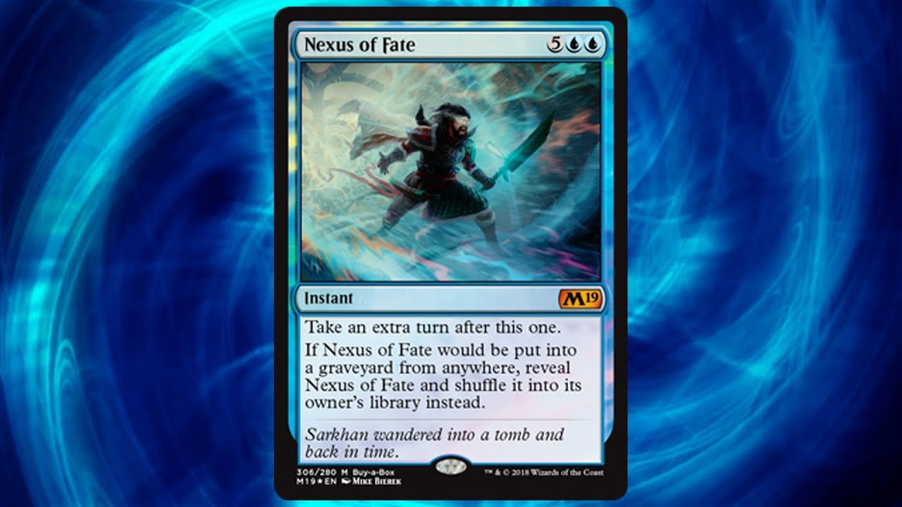 Nexus of Fate Magic the Gathering MTG Buy A Box Promo 22 available!