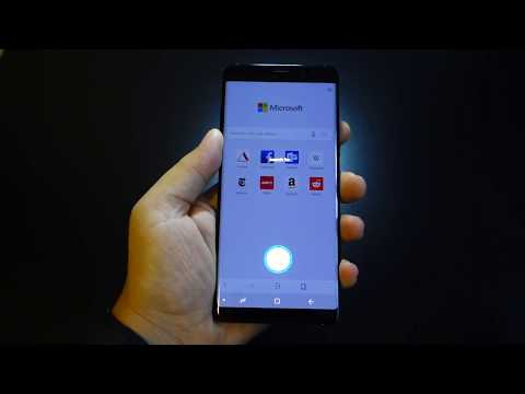 Review Microsoft Edge Browser for Android - tested on Samsung Galaxy Note 8