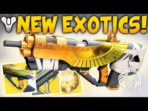 Destiny 2: NEW EXOTICS GAMEPLAY! Osiris Exotic, Farming Loot, Levelling Up, Quests & Missions