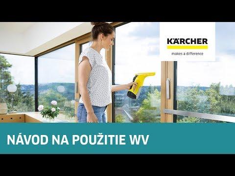 Kärcher Radí - Návod Na Použitie čističu Okien S Odsávaním WV