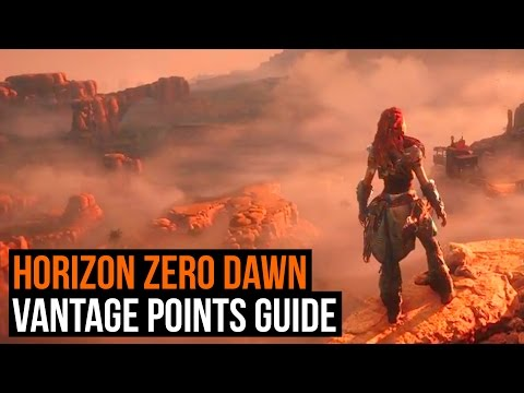 Horizon: Zero Dawn – How to find all 12 Vantage points (Vantage points guide )