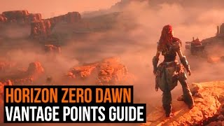 Horizon: Zero Dawn - How to find all 12 Vantage points (Vantage points guide )