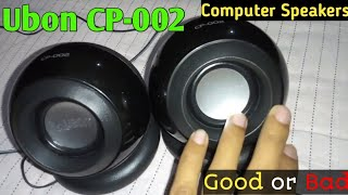Ubon  Big Daddy Bass CP-002 mini computer speaker review