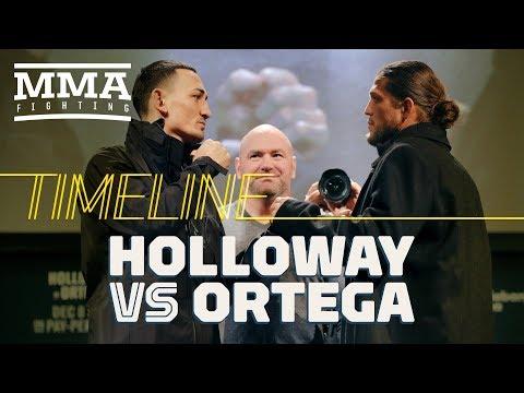 UFC 231 Timeline: Max Holloway vs. Brian Ortega - MMA Fighting