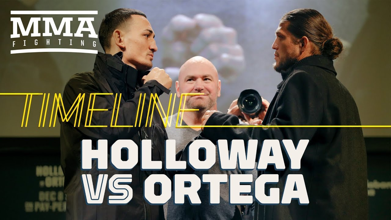 UFC 231 Timeline: Max Holloway vs. Brian Ortega - MMA Fighting
