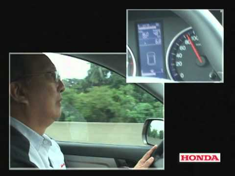 Vip Isada CR-V Fuel Consumption Video