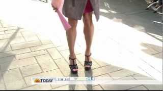 Video Amy Robach - legs and sexy stiletto high heels close up download MP3, 3GP, MP4, WEBM, AVI, FLV Agustus 2018