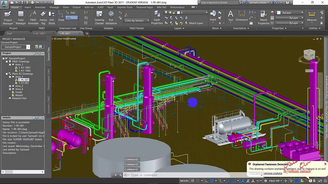 Autocad Plant 3d 2017 Introduction Youtube