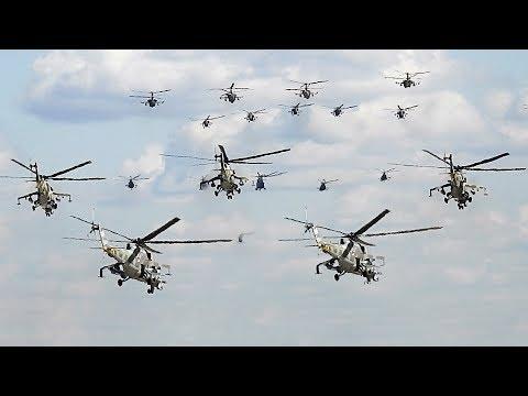 Вертолёты взлёт и посадка. Репетиция парада Победы 2019 4 мая. Воздушная часть. Аэродром Кубинка.