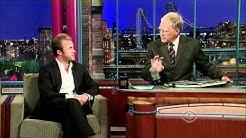 Scott Caan on David Letterman