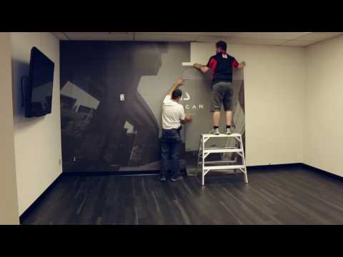 How to install your mural wallpaper